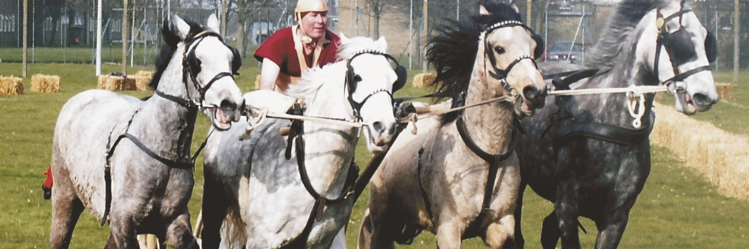DISCOVER THE SECRETS OF ROMAN CHARIOT RACING
